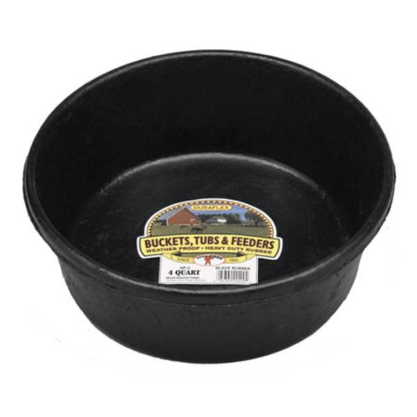 DuraFlex Rubber Feed Pan