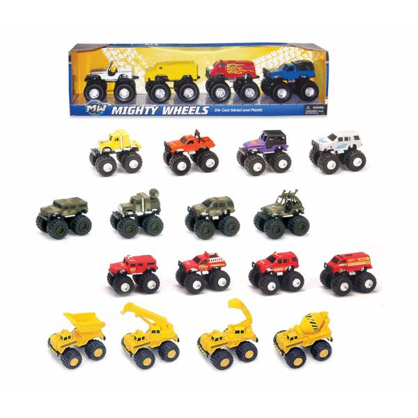 4-Piece Monster Truck Series Assortment