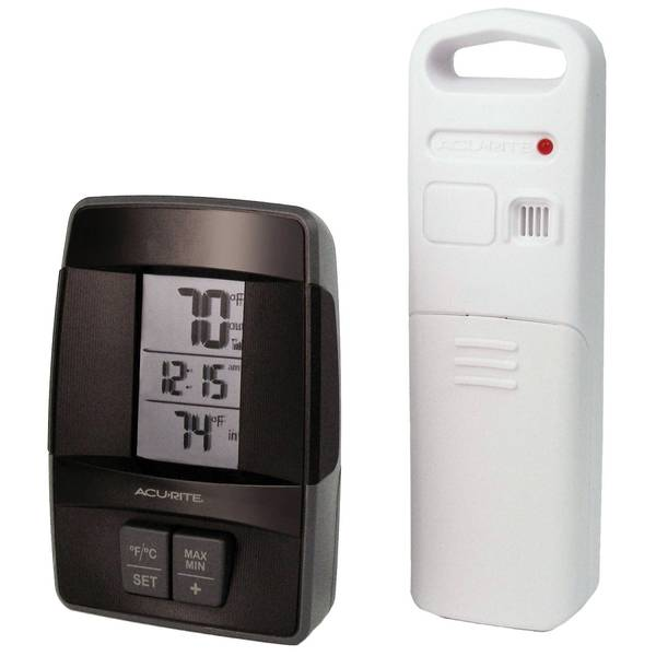 Wireless Thermometer with Clock