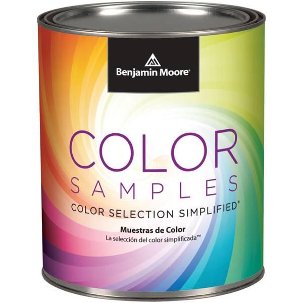 Benjamin moore pint color sample for Benjamin moore eco spec paint reviews