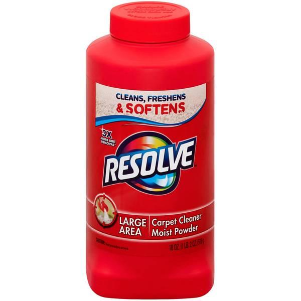 Resolve Deep Clean Carpet Cleaner Powder
