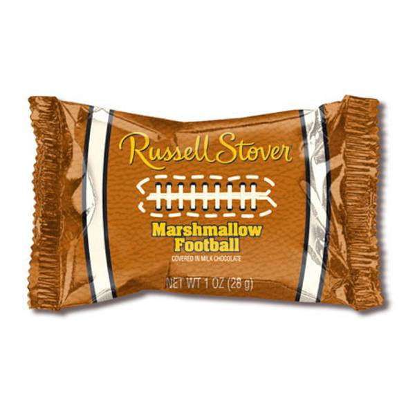 Milk Chocolate Marshmallow Football Bar