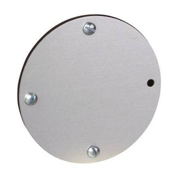 Gray Round Blank Cover