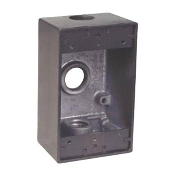 3 Hole Weatherproof Outlet Box