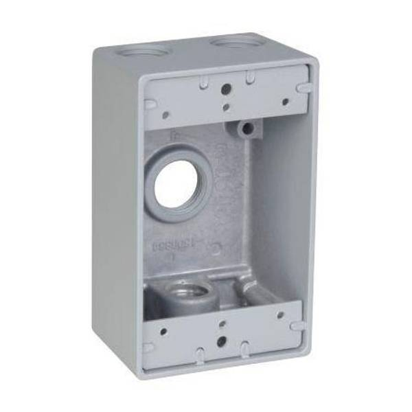 4 Hole Weatherproof Outlet Box
