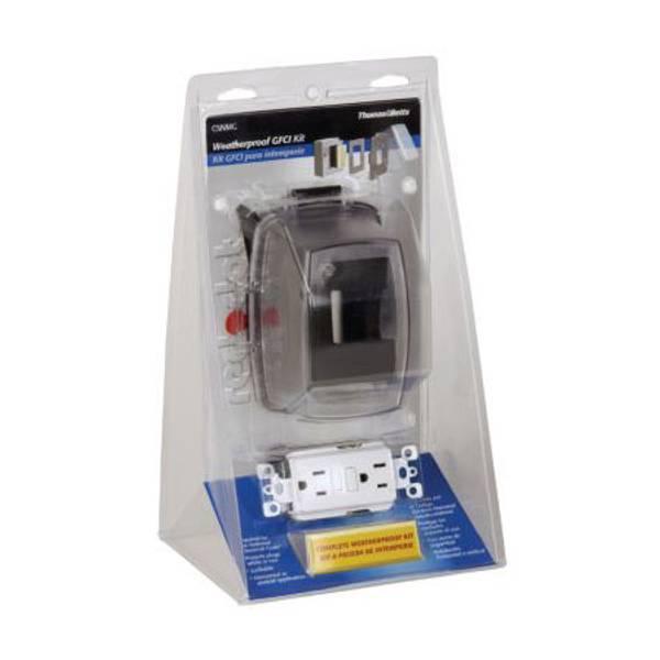 In - Use Weatherproof Non-Metallic GFCI Kit