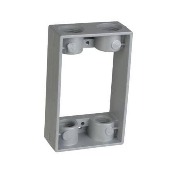 Metallic Electrical Boxes : Red dot metallic electrical box extender