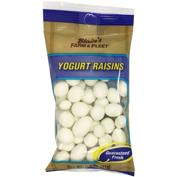 Yogurt Raisins To Go