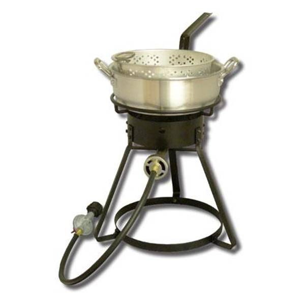Propane Outdoor Fish Fryer with Basket