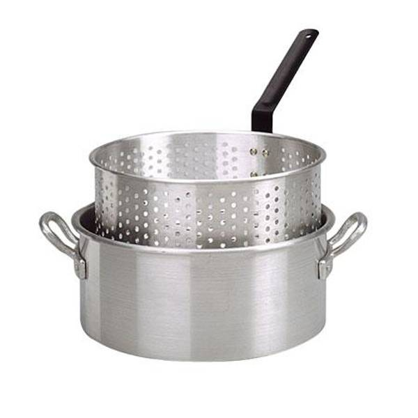 Aluminum Deep Fryer with Basket