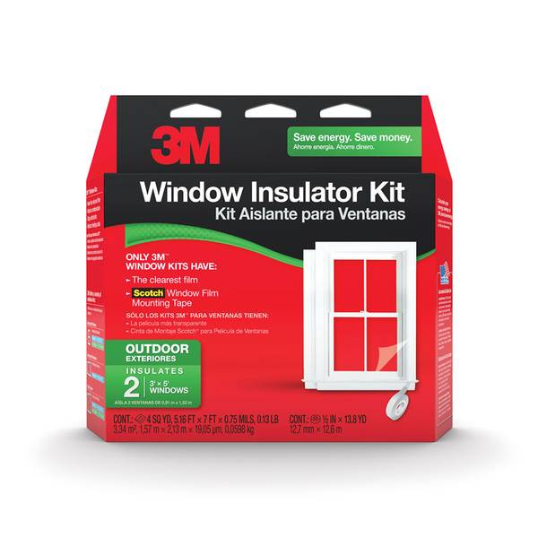 Outdoor Window Insulator Kit