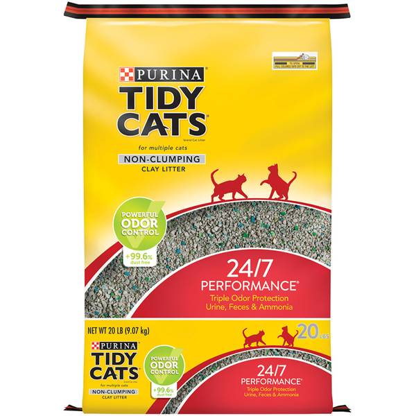 Multiple Cat Non - Clumping Litter