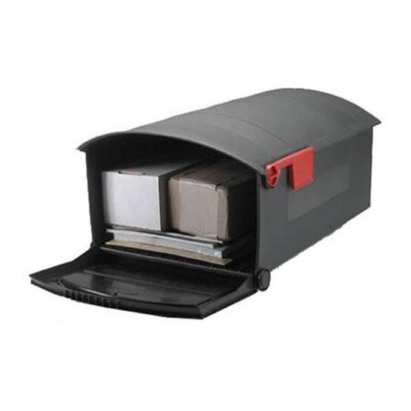 Black Large Plastic Mailbox