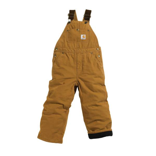 Carhartt Womens Quilt Lined Washed Duck Bib Overall