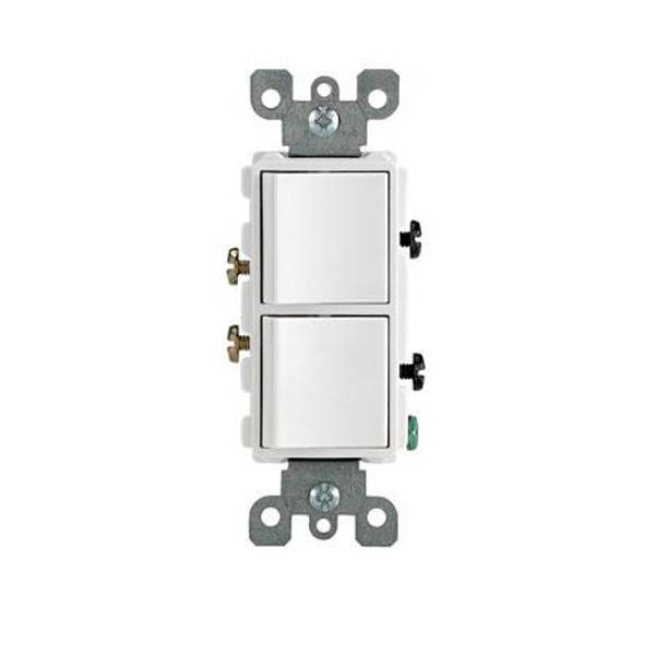 Decora Single Pole Combo Switch