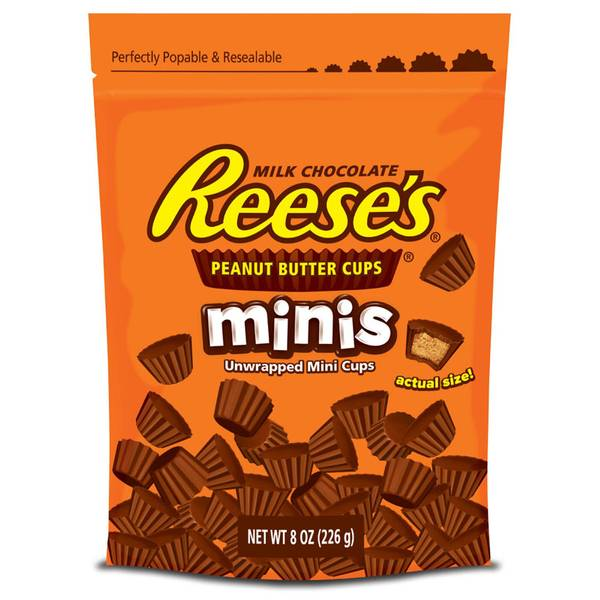 Peanut Butter Cups Minis Pouch