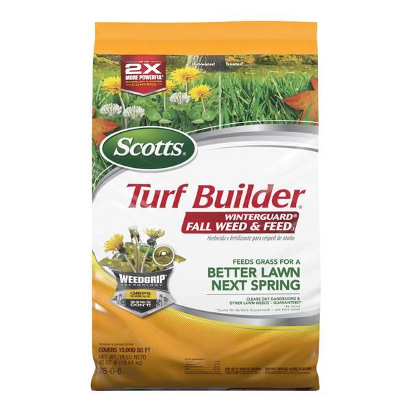 Turf Builder Winterguard Fall Weed & Feed