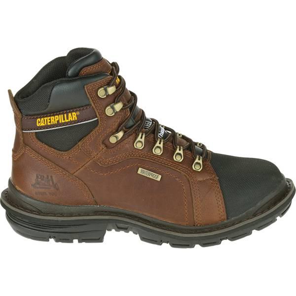 Men's Dark  Manifold Tough Waterproof Steel Toe Work Boots