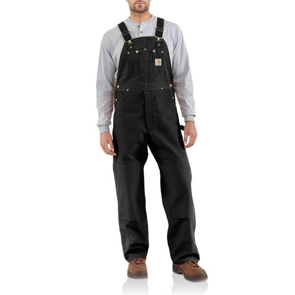 Men's Unlined Duck Bib Overalls