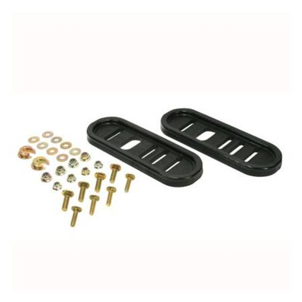 Universal Replacement Snow Blower Poly Slide Shoe Kit