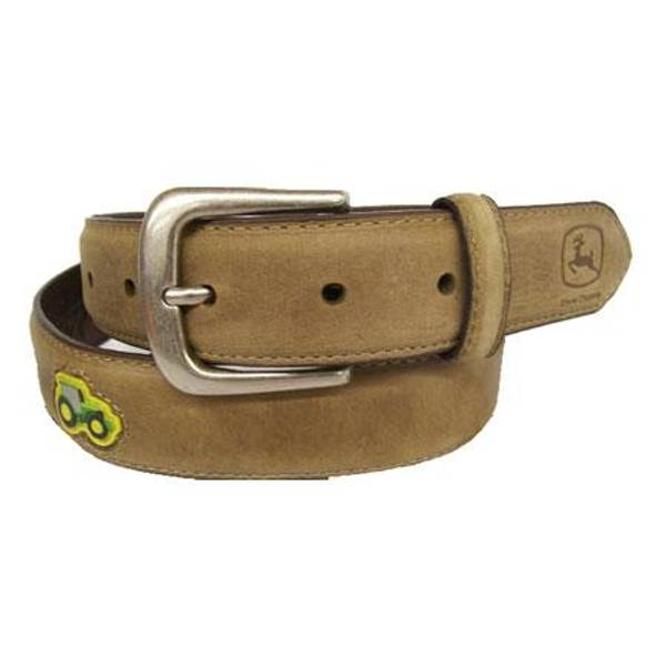 Boy's Leather Tractor Belt