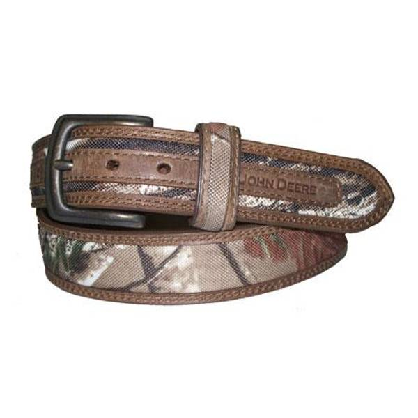 Boy's Realtree Fabric with Leather Belt
