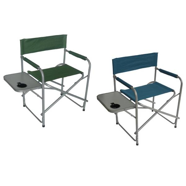 Directors Chair And Table Set: HGT International Directors Chair With Side Table