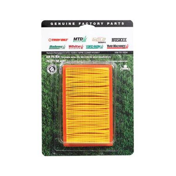MTD Air Filter with Pre-Filter