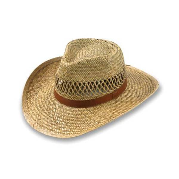 Men's Vented Outback Straw Hat