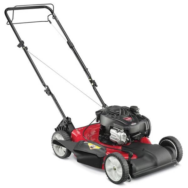 Mtd Yard Machine Lawn Mower : Yard machines by mtd in self propelled lawn mower