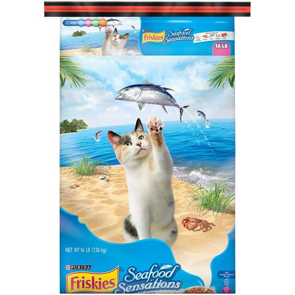 Seafood Sensations Cat Food