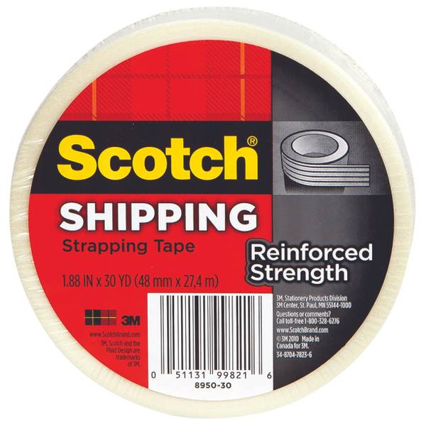 Reinforced Shipping / Strapping Tape