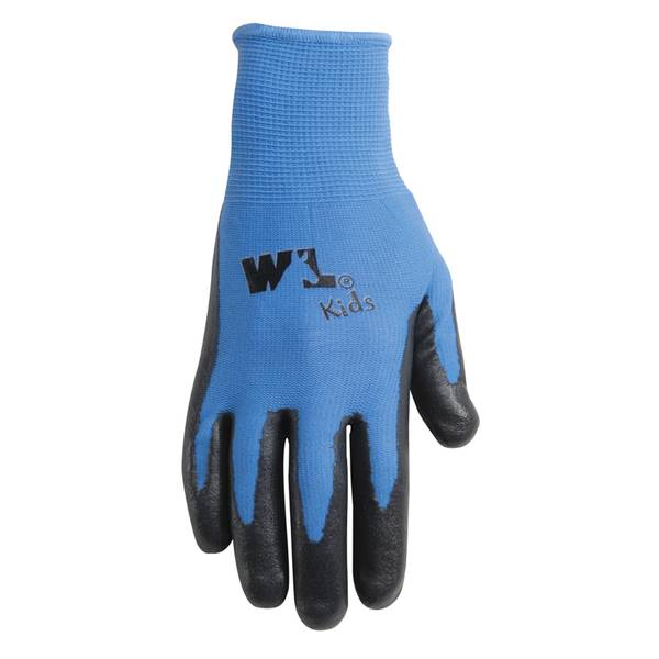 Kid's Nitrile Palm Coated Gloves