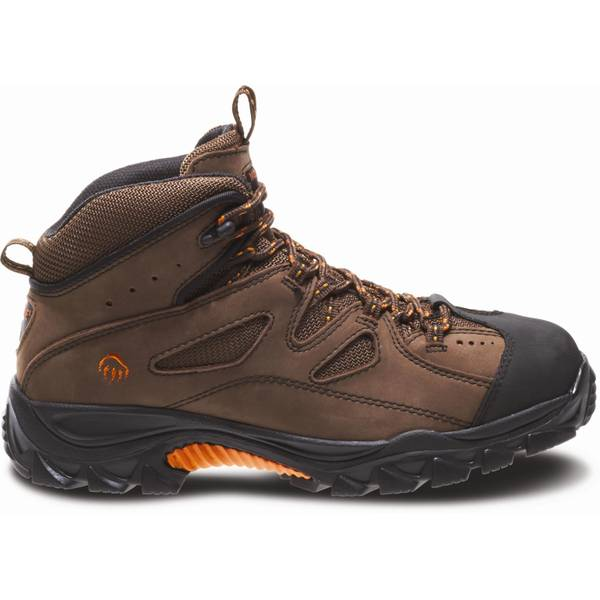 Men's Tan Steel Toe Hudson Hiking Boots