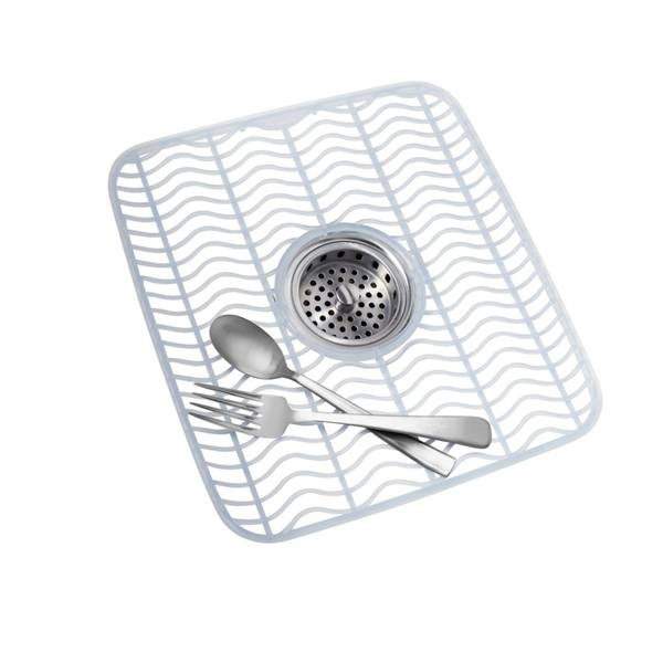 Rubbermaid Kitchen Sink Accessories: Rubbermaid Microban Sink Protector