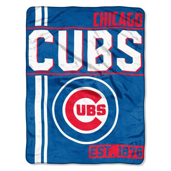 The Northwest Company MLB Chicago Cubs Super Plush Throw Blanket Cool The Northwest Company Throw Blankets