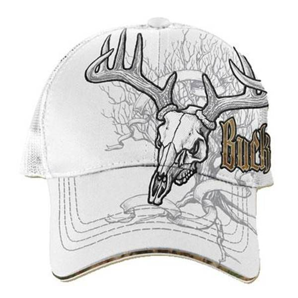 Men's Deer Tree Skull Baseball Cap