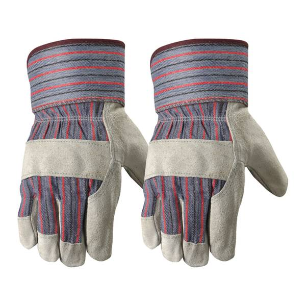 Men's 2 Pack Leather Palm Gloves