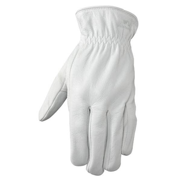 Pearl Gray Goatskin Leather Glove