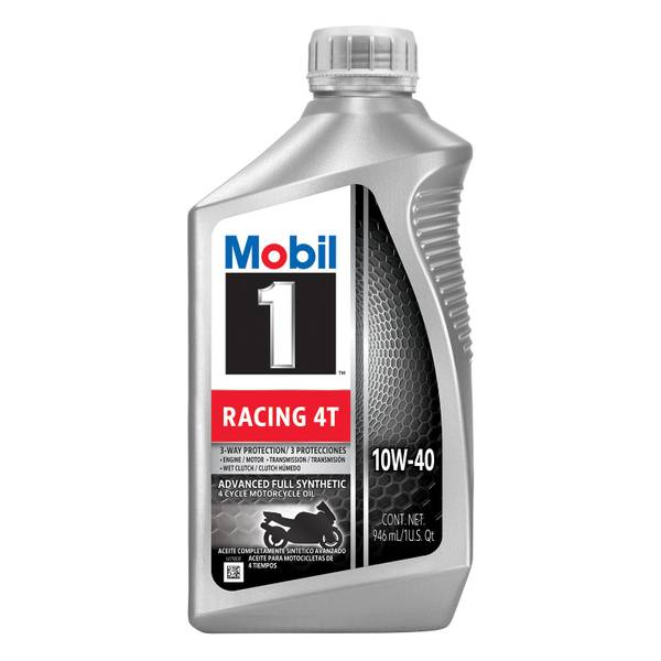 Mobil 1 10w40 Racing 4t Oil Fully Synthetic Motor Oil
