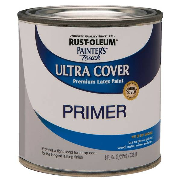 1/2 Pint Painter's Touch Ultra Cover Premium Latex Paint Primer