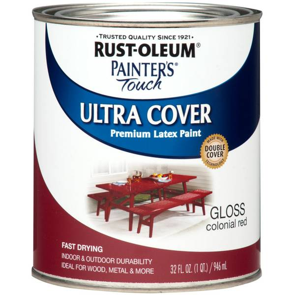 1 Qt Painter's Touch Ultra Cover Gloss Premium Latex Paint
