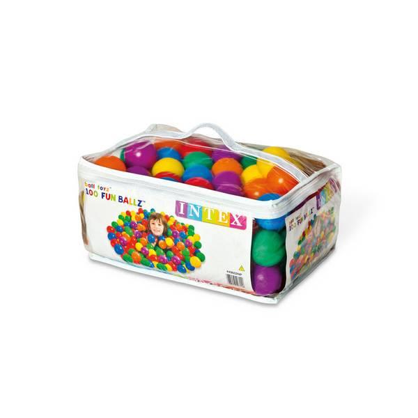 Plastic Multi-Colored Fun Ballz