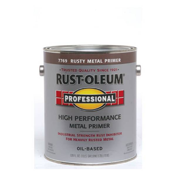 1 Gallon Professional High Performance Metal Oil Based Paint Primer