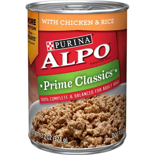 Prime Classics With Chicken & Rice Dog Food