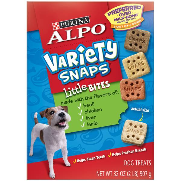Variety Snaps Dog Treats