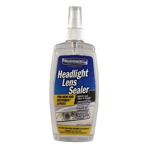 Headlight Lens Sealer Spray