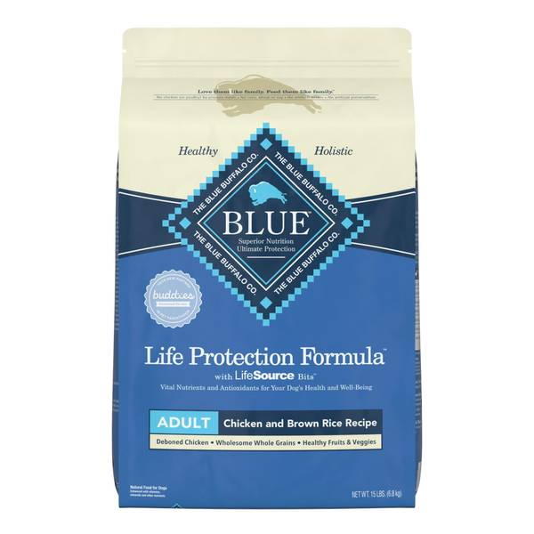 Chicken and Brown Rice Life Protection Formula Dog Food