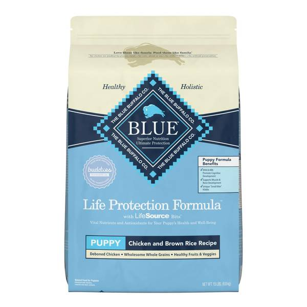 15 lb Chicken and Brown Rice Life Protection Formula Puppy Food