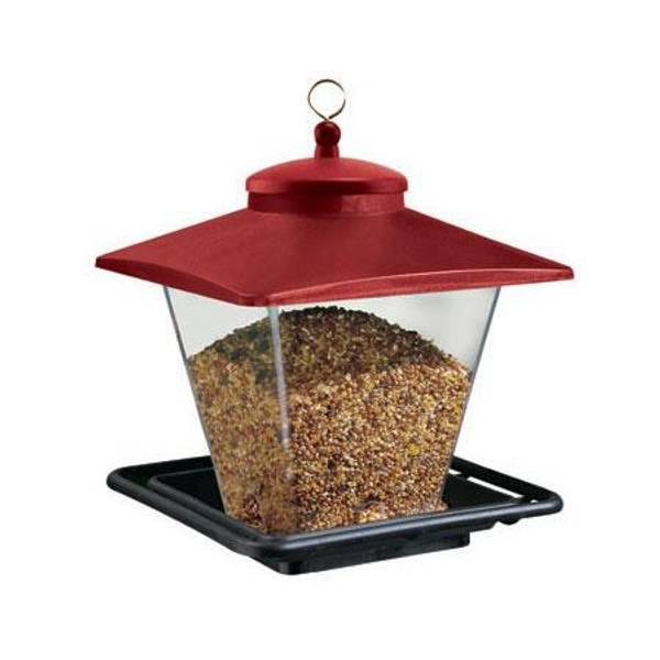 Cafe Plastic Seed Bird Feeder